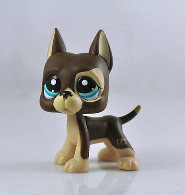 Littlest Animal Pet DANE Dog Child Girl Figure Littlest Toy Loose Cute LPS967