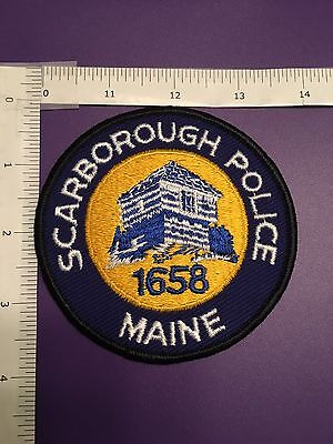 Scarborough Maine Police  Shoulder Patch