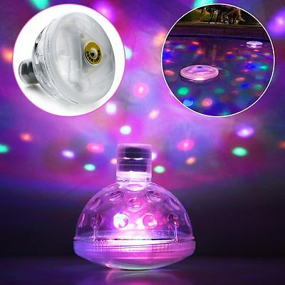4LED Light Underwater Glow Swimming Pond Pool Spa Tub Waterproof Floating Lamp