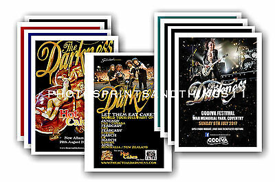 THE DARKNESS - 10 promotional posters  collectable postcard set # 1