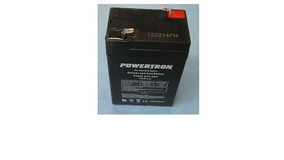Battery Replacement Vision Cp640Le 6V 4Ah,vrla,each
