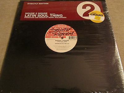 "House 2 House – Latin Soul Thing 12"" (SR 12587) Ex+"
