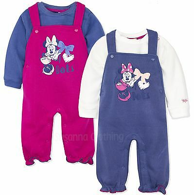 Disney Minnie Mouse Baby Girls Warm Outfit Set Jumper 0-24 Month New 2017/18