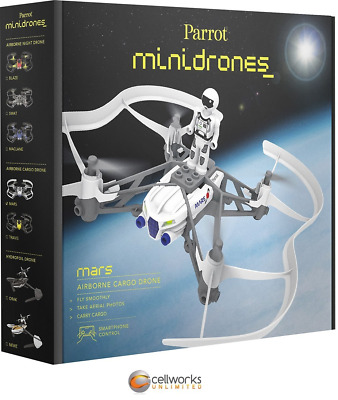 Parrot ‑ Airborne Cargo Mars Drone ‑ White 46008BBR