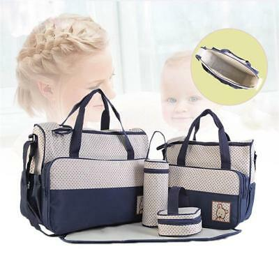 Baby Nappy Changing Bag Set Diaper Bags Mat Mummy Shoulder Handbag Stroller CB