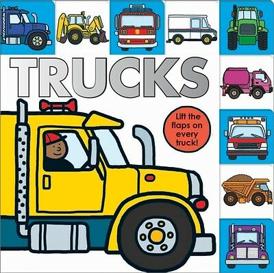 Trucks (Lift-the-flap Tab Books) (Board book), Roger Priddy, 9781849158725