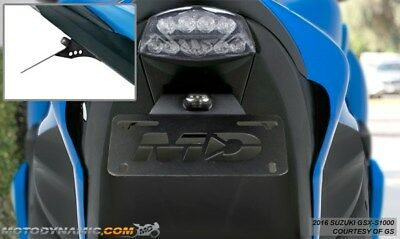 2016-2017 Suzuki GSX-S1000 S1000F Fender Eliminator Kit w/ LED License Light