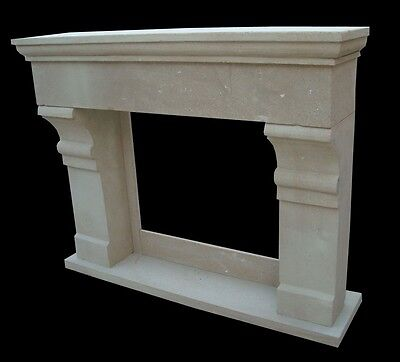 Tuscan Style Hand Carved Marble Fireplace Mantel Fpm514