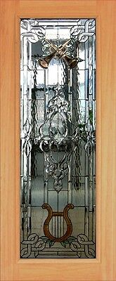 Hand Made Leaded Stained Glass Mahogany Entry Door - Jhl2167 - 81