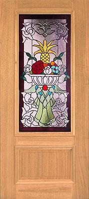 Beautiful Stained Glass Custom Entry Or Interior Door - Jhl160