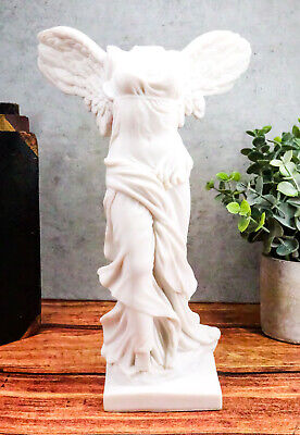 """Ancient Ruins Louvre Museum Winged Victory Nike of Samothrace Figurine 10.5""""H"""