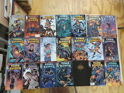Tomb Raider 43 Issue Comic Run 1-50 Witchblade Top Cow Image Turner
