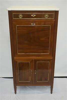 Antique French Louis XVI Secretaire Secretary Signed Jean-Baptiste Vassou SALE !