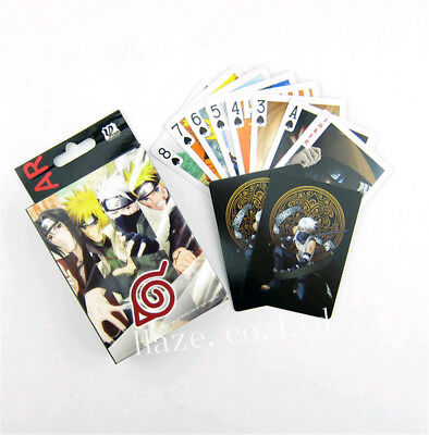 Anime Naruto Paper Game Poker Cards Playing Cards Collection