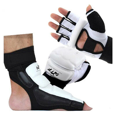 Tae Kwon Do Foot/Hand Protector case TKD Martial ArtsSparring Instep Gear Karate