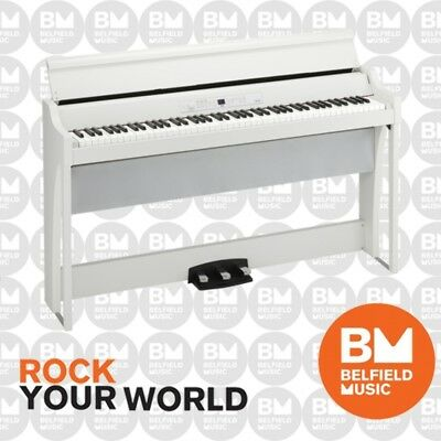 Korg G1 Air Digital Piano White 88 Keys - Brand New - Belfield Music