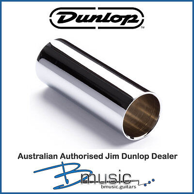 Jim Dunlop Johnny Winter Signature Thin-Walled Chromed Steel Slide - 17x19x52mm