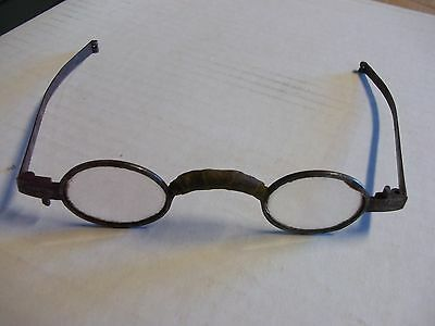 Pair of primitive antique spectacles late 1700s?