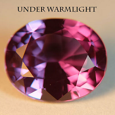 6.10ct.AWESOME RUSSIAN COLOR CHANGE ALEXANDRITE OVAL GEMSTONE