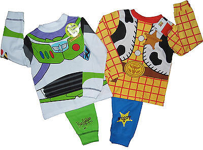 Boys Toy Story Character Dressing Up Pyjamas 18m up to 6 years