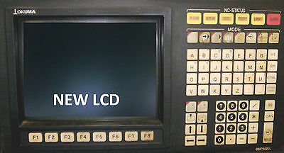 LCD monitor upgrade for 14-inch Okuma OSP 5020L with Cable Kit