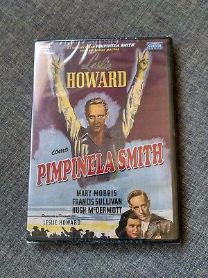 Dvd Leslie Howard - Pimpinela Smith - Mary Morris - Leslie Howard - Sealed- New