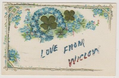 Ireland postcard - Love from Wicklow - Novelty Greeting