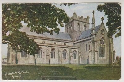 Northern Ireland postcard - Protestant Catthedral, Armagh