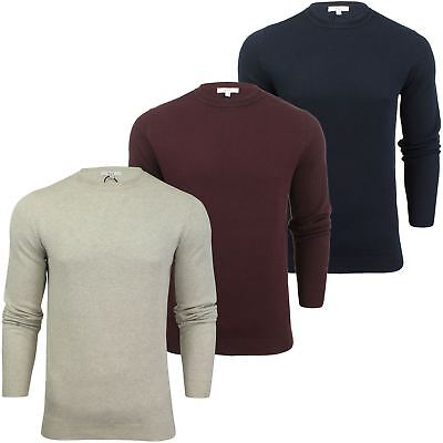 Mens Crew Neck Cotton Jumper by Xact