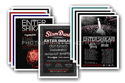ENTER SHIKARI - 10 promotional posters  collectable postcard set # 1