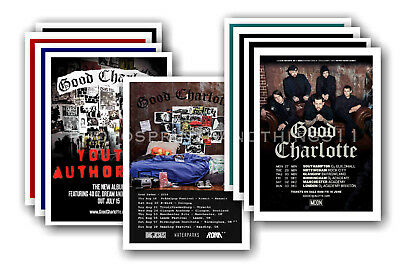 GOOD CHARLOTTE - 10 promotional posters  collectable postcard set # 1