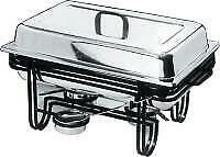 4 x Chafing Dishes incl 1/1 65mm Deep Gastronorm Pan