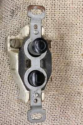 Push Button Light Switch tested old vintage antique 2 wire way LEVITON