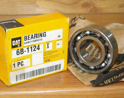 NEW GENUINE CATERPILLAR CAT Part # 6B-1124 BEARING for loaders,excavators ++