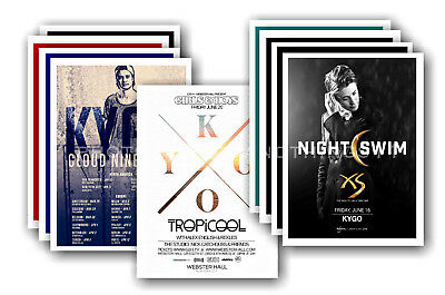KYGO - 10 promotional posters  collectable postcard set # 1