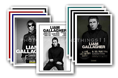 LIAM GALLAGHER - 10 promotional posters  collectable postcard set # 1