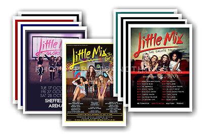 LITTLE MIX - 10 promotional posters  collectable postcard set # 1