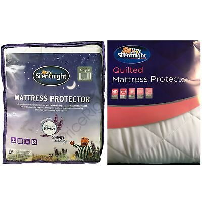 Silentnight Mattress Quilted Protector Febreze - Single & King Size