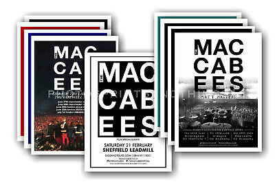 THE MACCABEES - 10 promotional posters  collectable postcard set # 1
