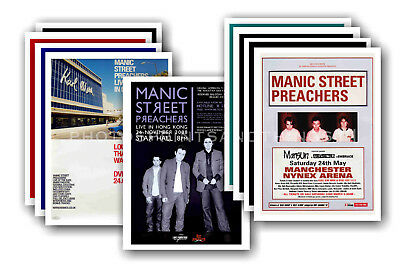 MANIC STREET PREACHERS - 10 promotional posters  collectable postcard set # 1