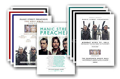 MANIC STREET PREACHERS - 10 promotional posters  collectable postcard set # 2