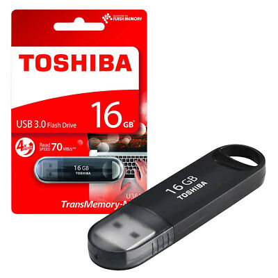 16GB Toshiba TransMemory MX U361 USB 3.0 Flash Drive USB 3.0 Memory Stick - 16GB