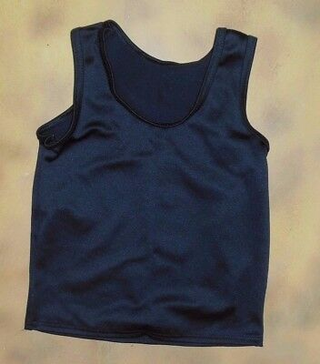 NWT TANK TOP Black boy's sizes Wolff Fording & Co Dance tank Spandex