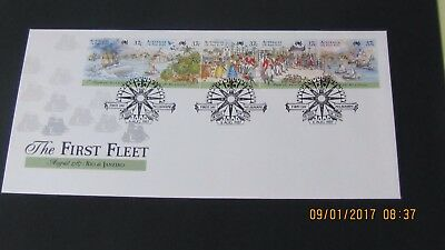 First Day Cover August 1987 The First Fleet Unaddressed