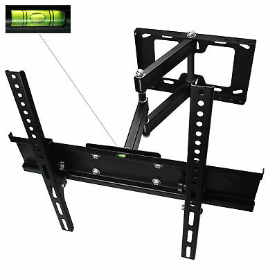 LCD Led Tv Support Mural Système Pivotant Inclinable 3D 26 - 60 Pouces
