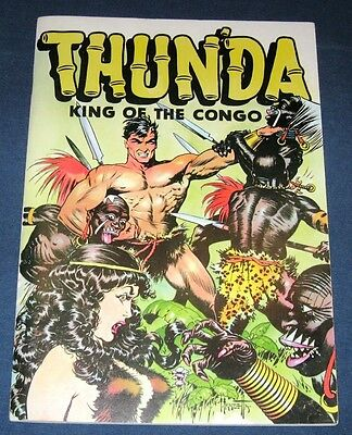 Thunda King Of The Congo  Russ Cochran 1973  Classic Frank Frazetta