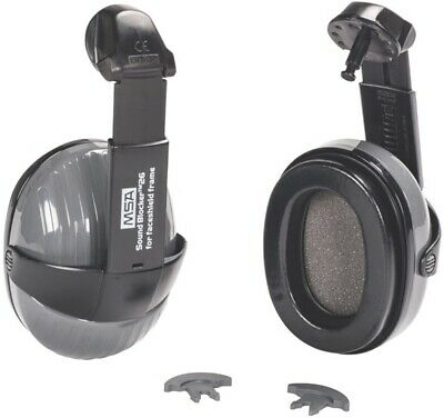 MSA Sound Blocker 26 Earmuff for Faceshield Frame Hearing Protection NRR26 - NEW