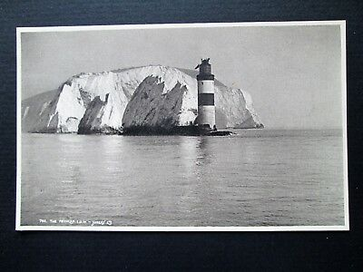 THE NEEDLES, LIGHTHOUSE, ISLE OF WIGHT - JUDGES SERIES No 700 (1920s)