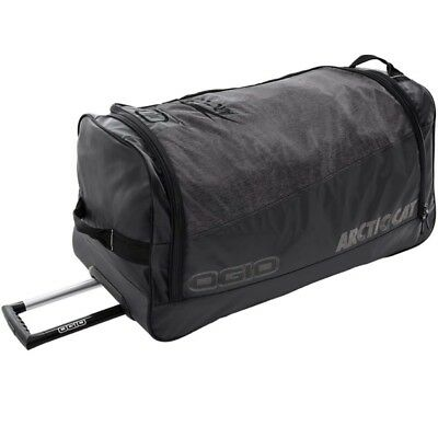 Arctic Cat OGIO 7,300 cu. in. Large Roller Gear Bag - Black & Gray - 5282-902