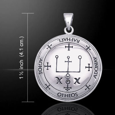 The SIGIL of RAPHAEL - the Great SEALS of SOLOMON top quality sterling silver